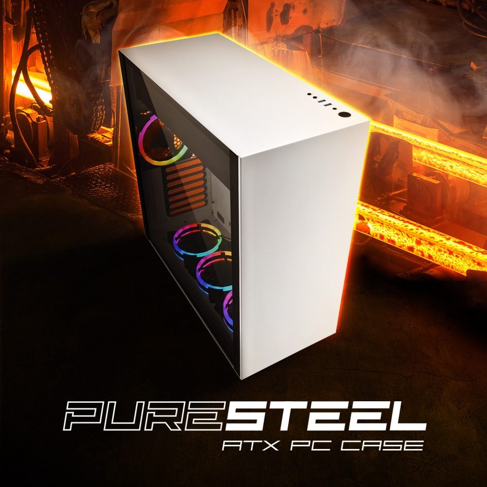 PURE STEEL RGB WHITE